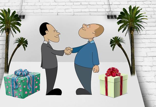 předání darů
