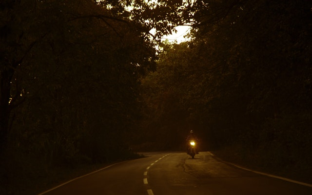 jazda v lese